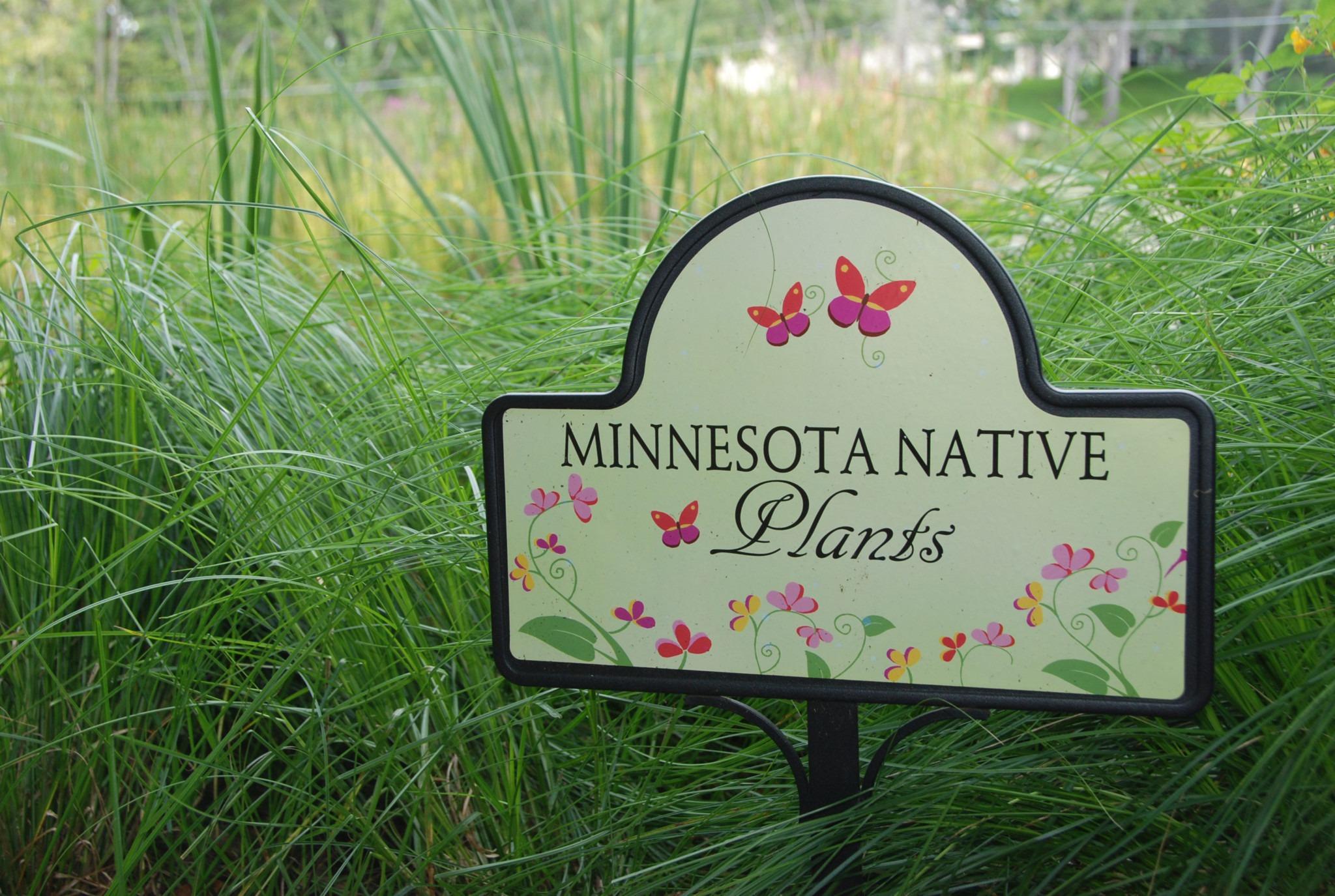 Minnesota Native Plants Sign