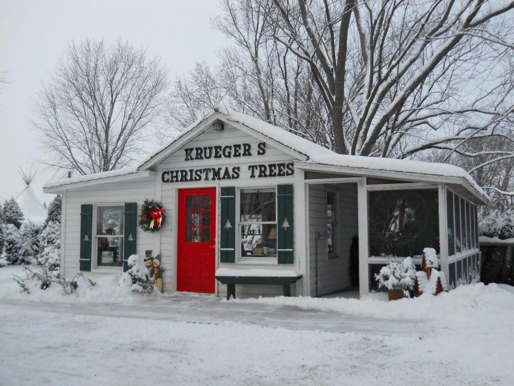 Christmas tree store on Krueger Tree Farm