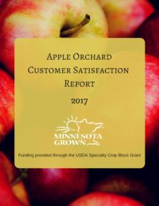Apple Orchard Customer Satisfaction Report 2017