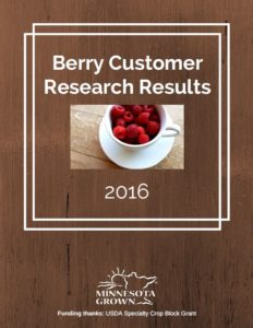 Berry Customer Research Results 2016