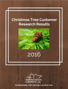 Christmas Tree Customer Research Results 2016