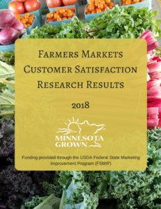 Farmers markets customer satisfaction research results 2018