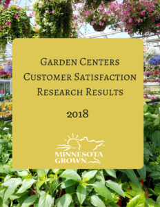 Garden centers customer satisfaction research results 2018