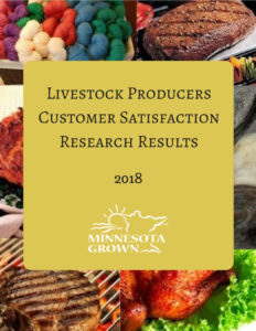 Livestock producers satisfaction research results 2018