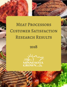 Meat processors customer satisfaction research results 2018