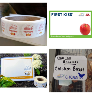 Examples of Minnesota Grown marketing materials