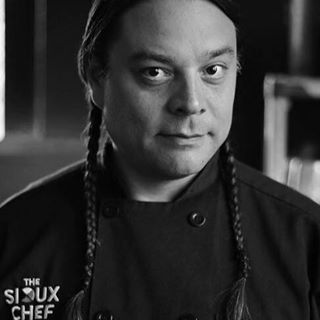 Sean Sherman, the Sioux Chef