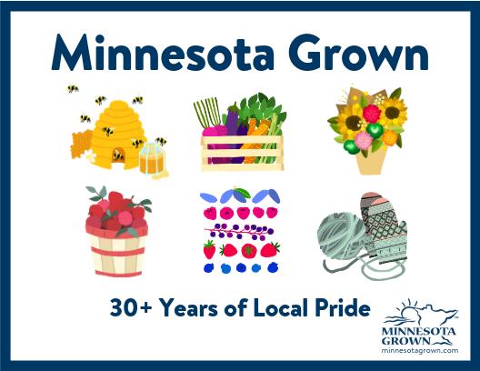 Minnesota Grown Postcard