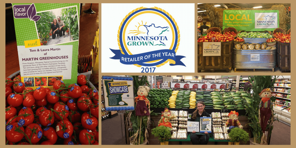 A collage of photos from Retailer of the Year contest