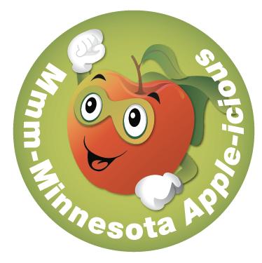 super apple sticker