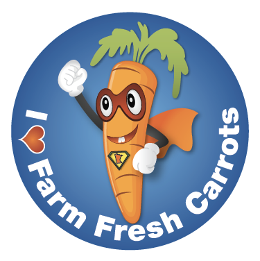 super carrot sticker