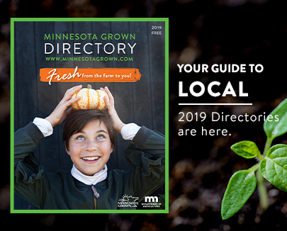 Your guide to local order your free guide. Image shows 2019 directory cover with girl holding a gourd on her head