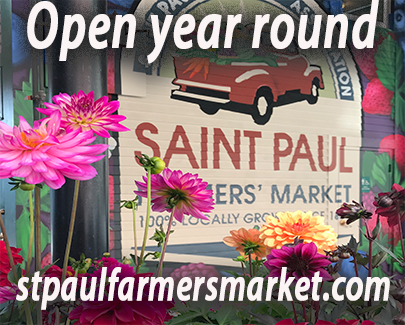 Open year round. St paul farmers market dot com